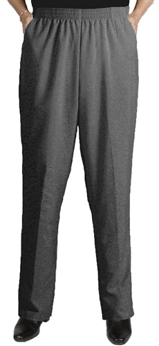 Charcoal Grey Viviana Shaped Fit Pant