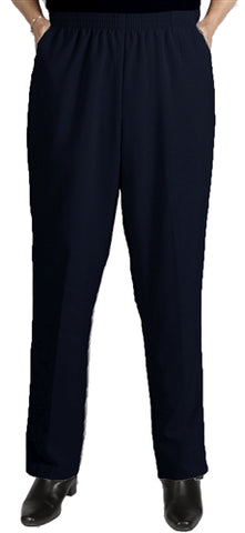 Navy Viviana Shaped Fit Pant