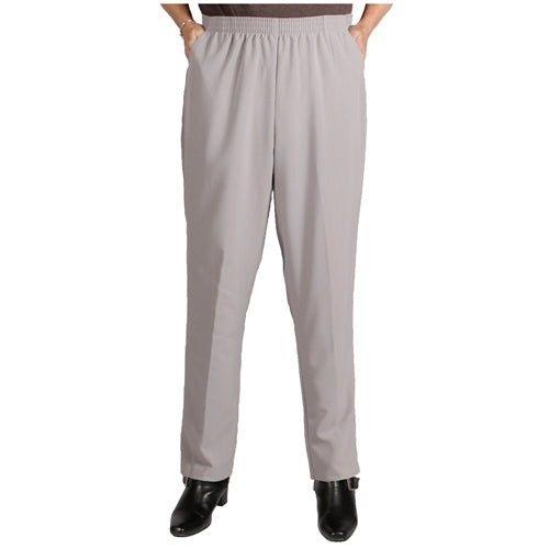 Platinum Grey Viviana Shaped Fit Pant