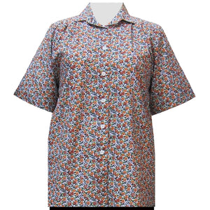 Marigold Tres Jolie Short Sleeve Tunic Women's Plus Size Blouse
