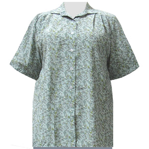 Sage Stella Short Sleeve Tunic Women's Plus Size Blouse