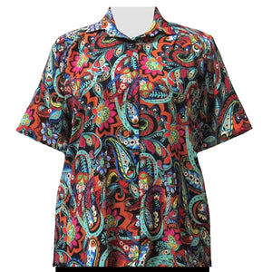 Spice Indian Dream Short Sleeve Tunic Women's Plus Size Blouse