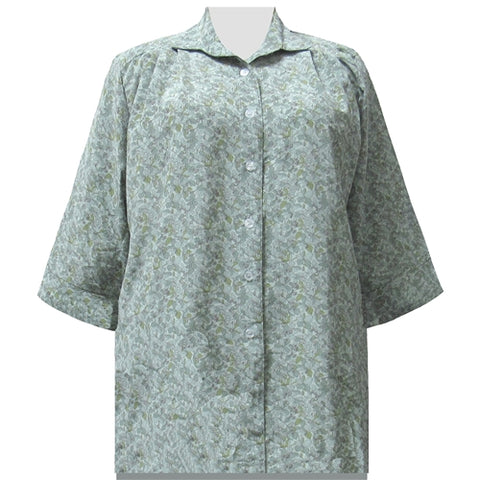 Sage Stella 3/4 Sleeve Tunic Women's Plus Size Blouse
