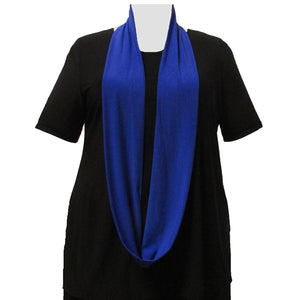 Cobalt Infinity Scarf