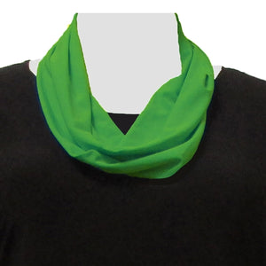 Kelly Green Infinity Scarf