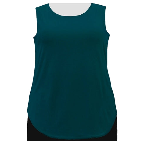 Alpine Green Tank Top Women's Plus Size Tank Top