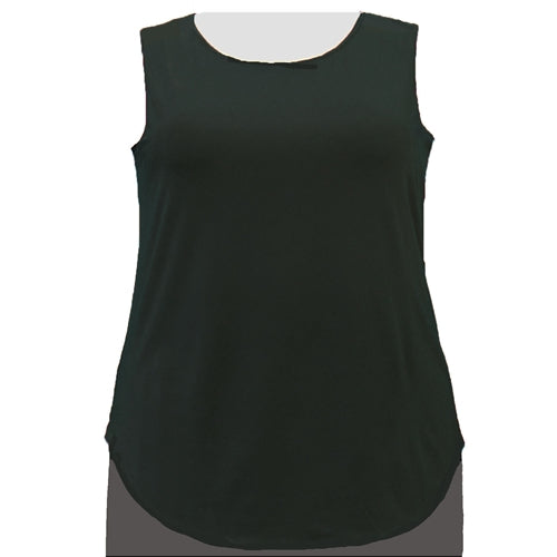 Black Tank Top Women's Plus Size Tank Top