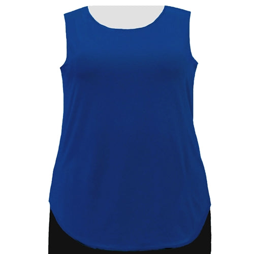 Cobalt Tank Top Women's Plus Size Tank Top