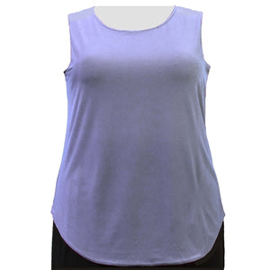 Lilac Tank Top Women's Plus Size Tank Top
