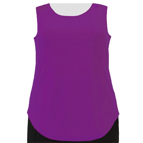 Magenta Tank Top Women's Plus Size Tank Top