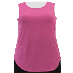 Pink Tank Top Women's Plus Size Tank Top
