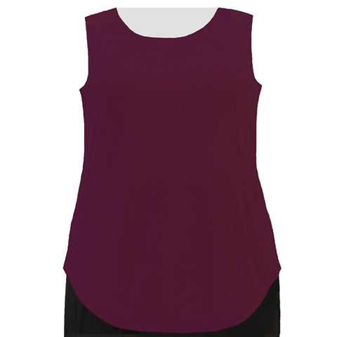 Wine Tank Top Women's Plus Size Tank Top