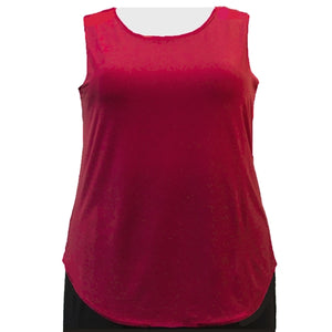Red Tank Top Women's Plus Size Tank Top
