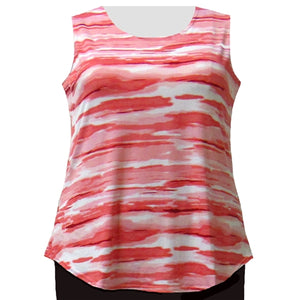 Sunset Storm Layering Tank Top Women's Plus Size Tank Top