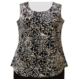 Tortoise Layering Tank Top Women's Plus Size Tank Top