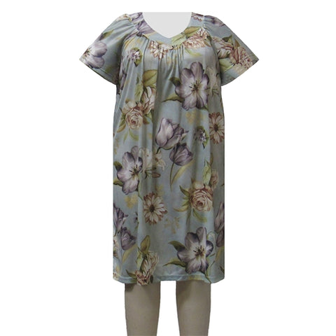 Tulips Lounging Dress Women's Plus Size Dress