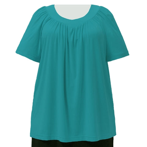 Jade V-Neck Pullover Top Women's Plus Size Pullover Top