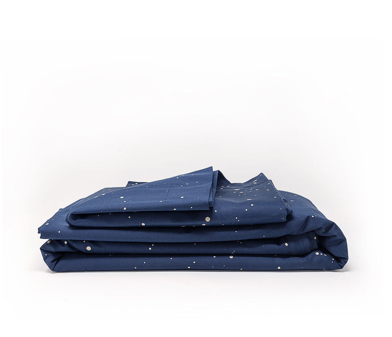 Navy blue modern luxury bedding - ACASA - luxury bedding