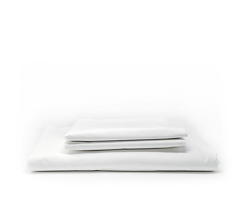 White Essential Percale Bedding Set