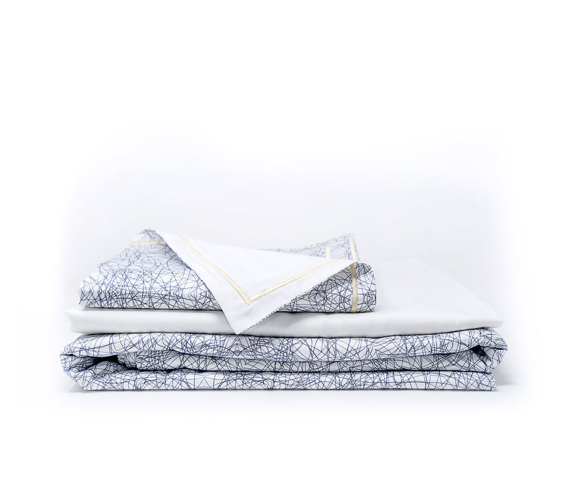 Kaleidoskope Monochrome - Egyptian cotton sheets - ACASA