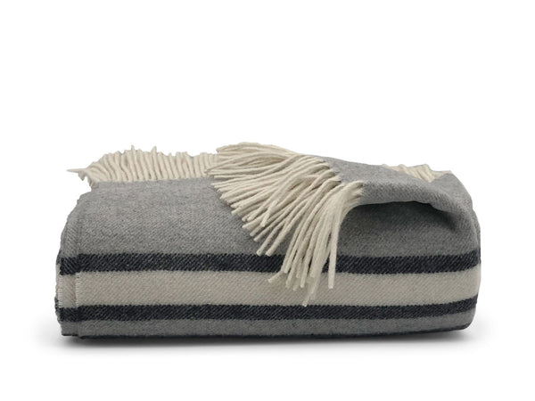 Modena  superfine merino wool and cashmere throw
