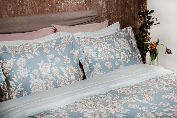 pastel duvet cover and pillow shams - ACASA - Luxury bedding in Canada