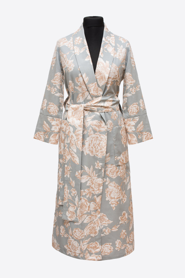 bridal and bridal party luxury robe - ACASA