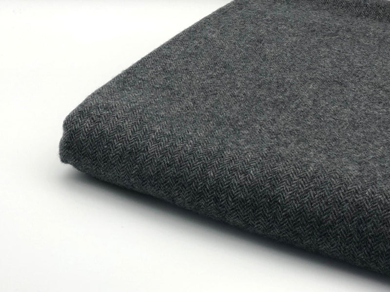 Soft touch wool and cashmere blanket throw