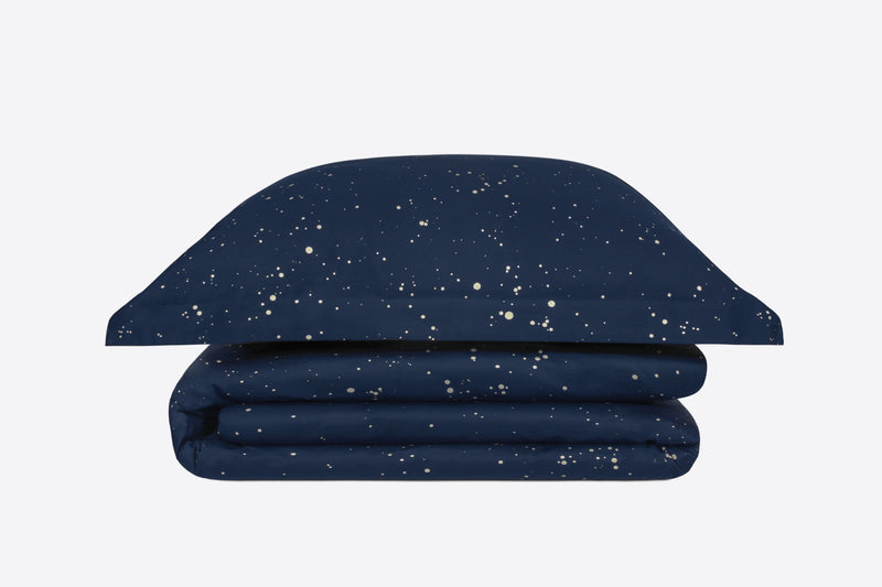 bed sheets with design - cosmos style - ACASA - high end bedding