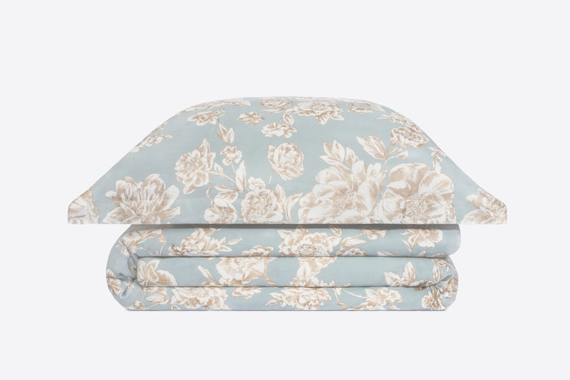 Floral duvet cover and pillow shams - ACASA