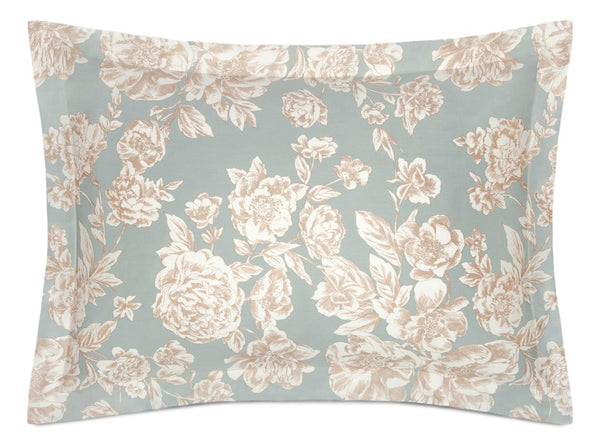 golden peonies pillow shams - ACASA fine linen