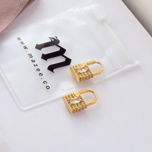 Thea Lock Earrings