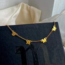 Load image into Gallery viewer, Letter Name Necklace
