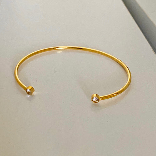Open Dia Bangle