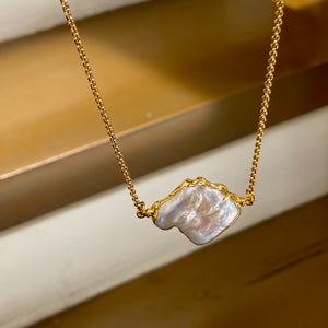 Pearl Baroque Necklace