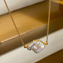 Load image into Gallery viewer, Pearl Baroque Necklace