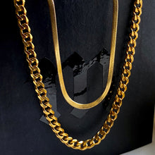 Load image into Gallery viewer, Flat Snake Necklace - 18""