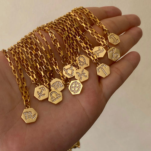 Mini Zodiac Necklace