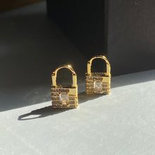 Load image into Gallery viewer, Thea Lock Earrings