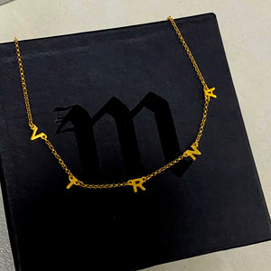 Letter Name Necklace