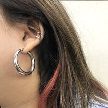 Load image into Gallery viewer, Silver Claudia Thin Earcuff