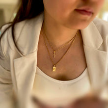 Load image into Gallery viewer, Cross Diamond Necklace