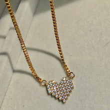 Load image into Gallery viewer, Digital Heart Necklace