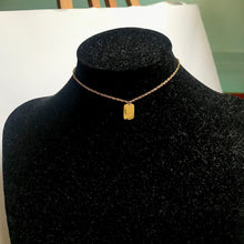 Load image into Gallery viewer, Good Luck Tag Necklace