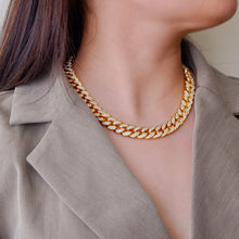 Load image into Gallery viewer, Gold Downtown Diamond Necklace