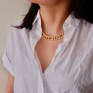 Iced Figaro Necklace