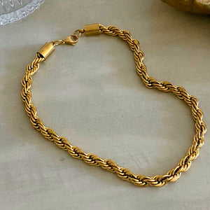 Gold Cord Necklace