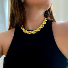 Load image into Gallery viewer, Mega Rope Necklace - Gold