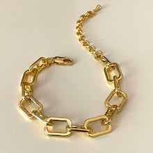 Load image into Gallery viewer, Cable Diamond Bracelet - Gold