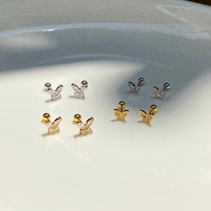 Micro Butterfly Studs
